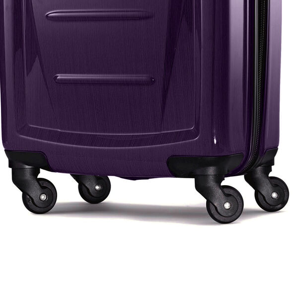 "Samsonite Winfield 2 Fashion 24"" Spinner in the color Purple."