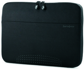 "Samsonite Aramon NXT 17"" Laptop Sleeve in the color Aramon Black."