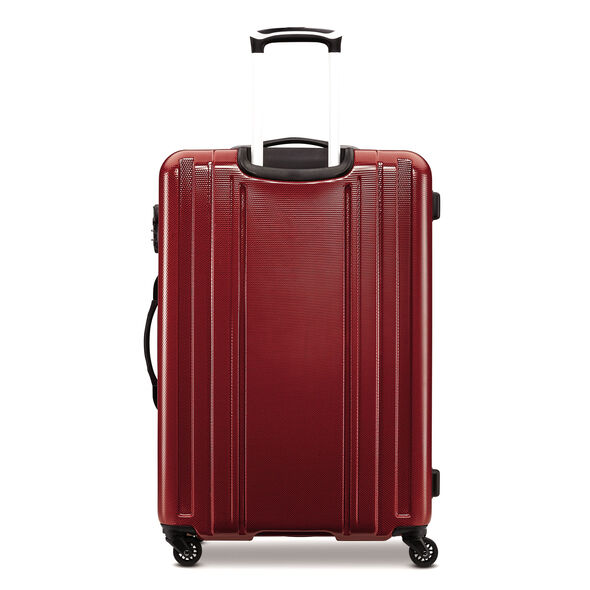 "Samsonite Carbon 2 28"" Spinner in the color Red."