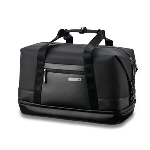 Valt Zip Bottom Weekender in the color Black.