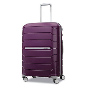 "Samsonite Freeform 24"" Spinner in the color Plum."