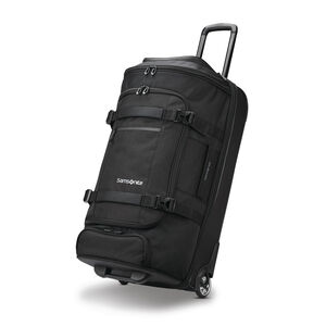 "Detour 29"" Wheeled Duffel in the color Black."