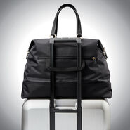 Samsonite Encompass Womens Convertible Weekend Duffel in the color Black.