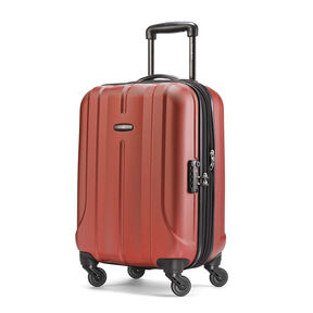 "Samsonite Fiero 20"" Spinner in the color Burnt Orange."