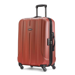 "Samsonite Fiero 24"" Spinner in the color Burnt Orange."