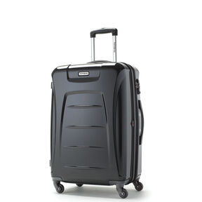 "Samsonite Momentum 24"" Hardside Spinner in the color Black."