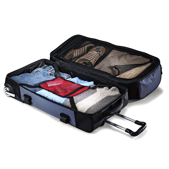 "Samsonite Ripstop 26"" Rolling Duffel in the color Blue."
