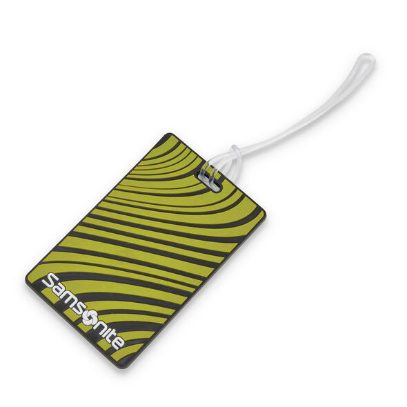 Samsonite Samsonite Designer ID Tags in the color Vivid Green.