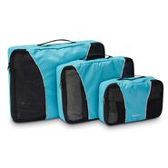 Samsonite Packing Cubes 3PC Set in the color Blue.