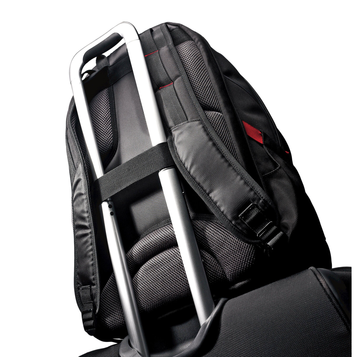 Samsonite Tectonic 17 quot  Perfect Fit Laptop Backpack in the color  Black Red. 4aa5321f980c1