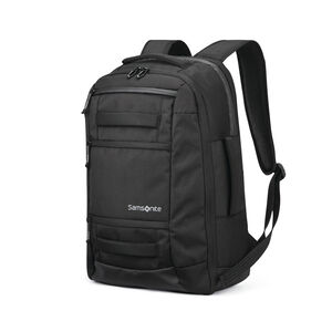 Detour Travel Backpack in the color Black.
