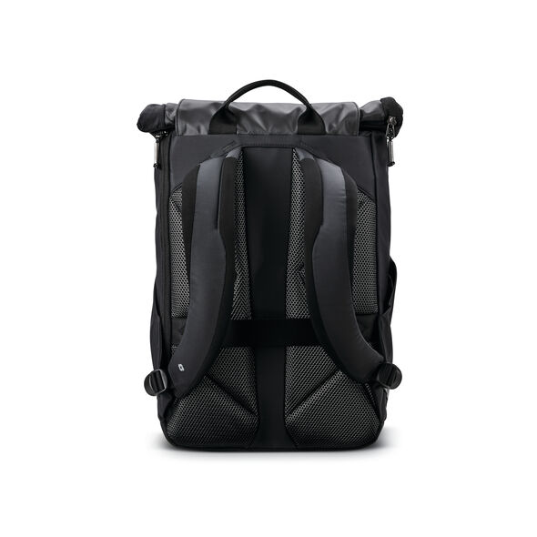 Samsonite Valt Rolltop Backpack in the color Black.