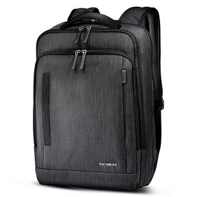 Samsonite Sxk Slim Backpack In The Color Black Silver