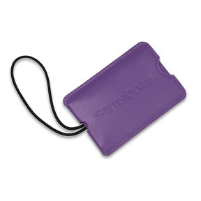 Samsonite Vinyl ID Tag (Set of 2) in the color Ultraviolet.