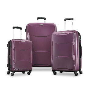 Samsonite Pivot 3 Piece Set in the color Purple.