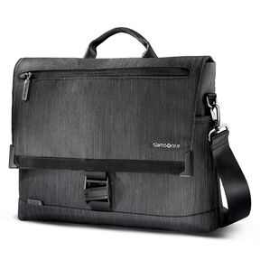 Samsonite Sxk Core Messenger In The Color Black Silver