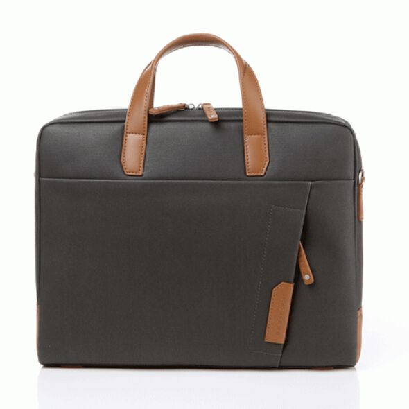 Samsonite Red Brillo Briefcase in the color Khaki.