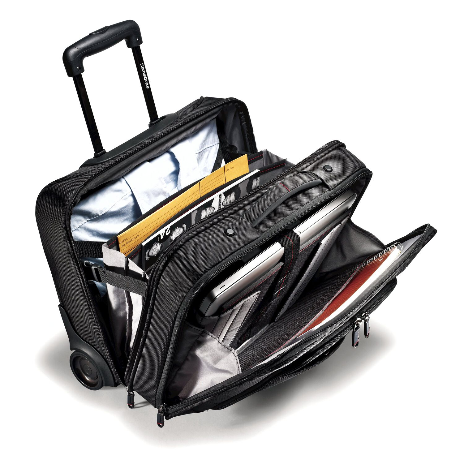 Samsonite Xenon 2 Mobile Office In The Color Black