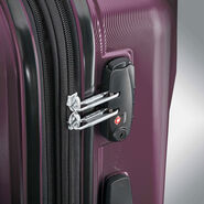 "Samsonite Pivot 25"" Spinner in the color Purple."
