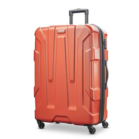 "Samsonite Centric 28"" Spinner in the color Burnt Orange."