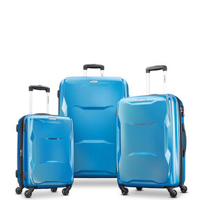 Samsonite Pivot 3 Piece Set in the color Blue Dream.
