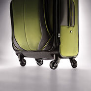 """Samsonite Elevation Xtreme 21"""" Spinner in the color Grey/Lime."""