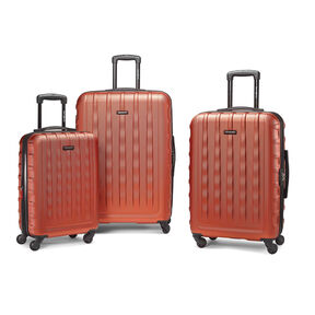 Samsonite E-Volve DLX 3PC Set in the color Orange.