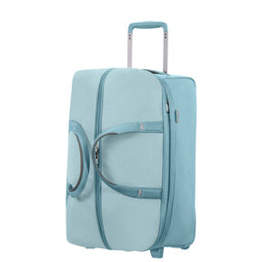 """Samsonite Uplite 20"""" Wheeled Duffle in the color Ice Blue."""