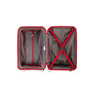 "Samsonite Freeform 28"" Spinner in the color Red."