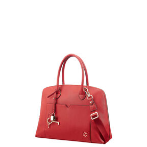 Samsonite Miss Journey Boston Bag in the color Cherry Red.