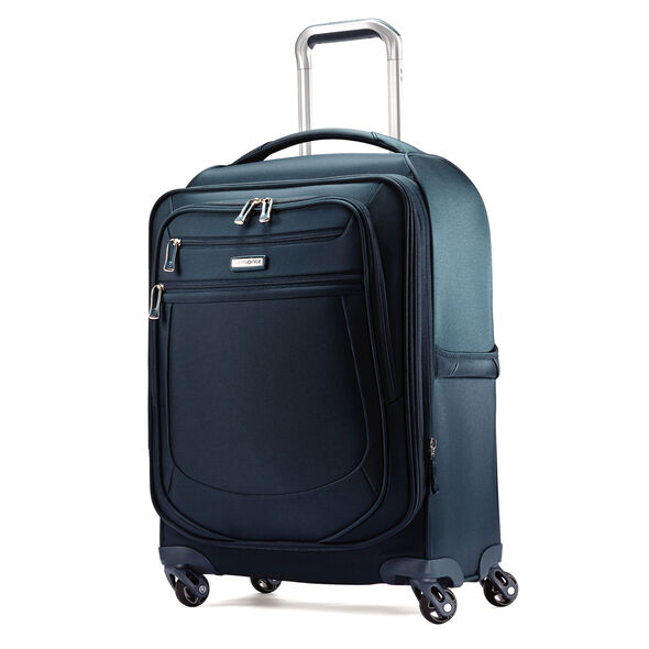 "Samsonite Mightlight 2 21"" Spinner in the color Majolica Blue."