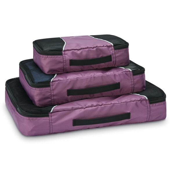 Samsonite Packing Cubes 3PC Set in the color Purple.