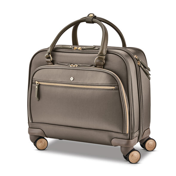 Samsonite Mobile Solution Spinner Mobile Office in the color Caper Green.