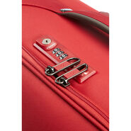 "Samsonite Uplite 24"" Spinner in the color Red."