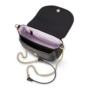 Samsonite Encompass Womens Convertible Secure Saddle Bag in the color Black.