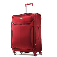 "Samsonite Lift2 25"" Spinner in the color Red."