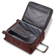 "Samsonite Silhouette 16 Expandable 30""  Spinner in the color Cabernet Red."
