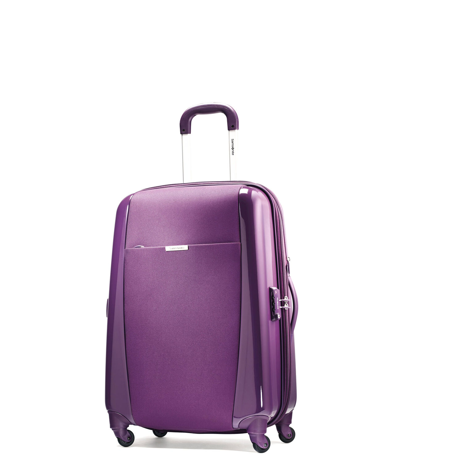 Samsonite Sahora Brights 20 Carry On Spinner Luggage In The Color Purple