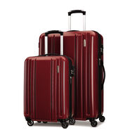 Samsonite Carbon 2 2 Piece Set in the color Red.