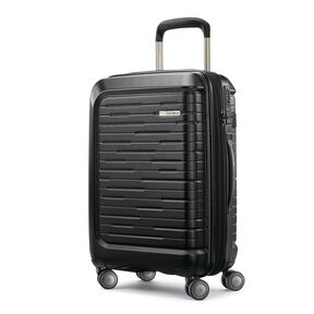 "Samsonite Silhouette 16 20"" Hardside Spinner in the color Obsidian Black."
