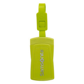 Samsonite Samsonite Security ID Luggage Tag ( Set of 2) in the color Neon Green.