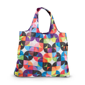 Samsonite Foldable Shopper's Tote in the color Razzmatazz.