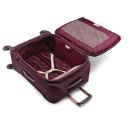 "Samsonite Flexis 25"" Spinner in the color Cordovan."