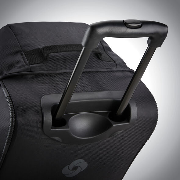 "Samsonite Andante 2 22"" Wheeled Duffel in the color Black."