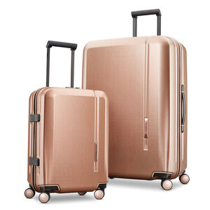 Samsonite Novaire 2 Piece Set in the color Rose Gold.