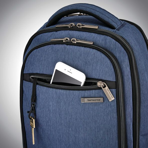 Samsonite Modern Utility Small Backpack in the color Blue Chambray.