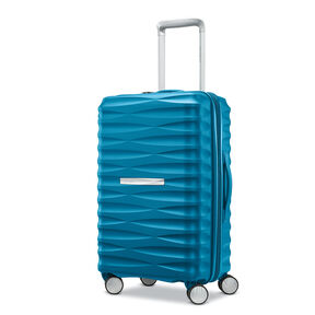 "Samsonite Voltage DLX 20"" Spinner in the color Teal."