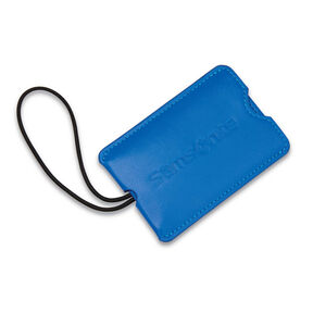 Samsonite Vinyl ID Tag (Set of 2) in the color Blue Fantasy.