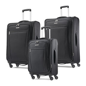 Samsonite Ascella-I 3 Piece Set in the color Black.