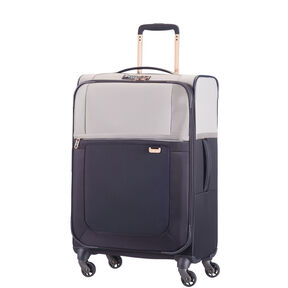 "Samsonite Uplite 24"" Spinner in the color Pearl/Blue."